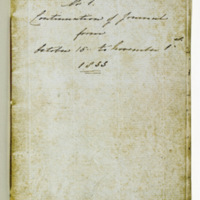 Diary of Frances Louisa Bussell 15 October - 1 November 1833
