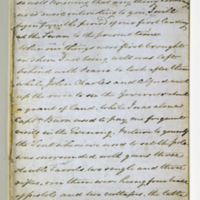 Letterbook of Joseph Vernon Bussell Containing Two Letters to Capel Carter 22 December 1832
