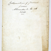 Diary of Frances Louisa Bussell 3 - 16 November 1833